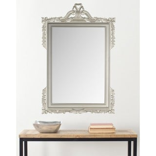 Safavieh Pedimint Pewter Mirror