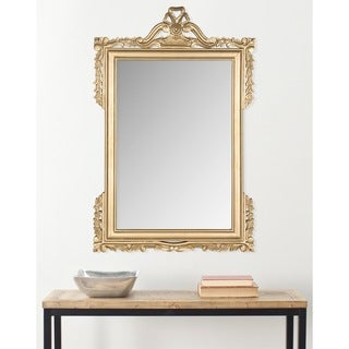 Safavieh Pedimint Gold 31 x 47-inch Rectangular Mirror