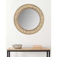Safavieh Braided Chain Gold 24-inch Mirror