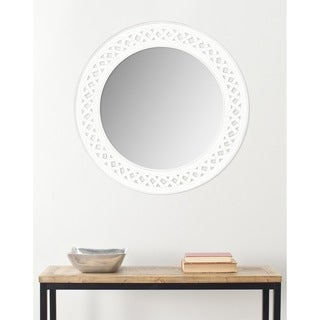 Safavieh Braided Chain White Mirror