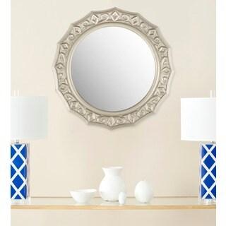 Safavieh Gossamer Lace Pewter 25-inch Mirror