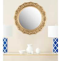 Safavieh Gossamer Lace Gold 25-inch Mirror