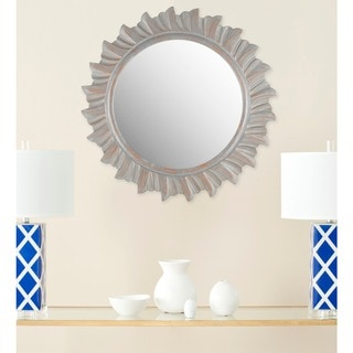 "Safavieh By The Sea Burst Gold 29-inch Round Decorative Mirror - 29"" x 29"" x 0.8"""