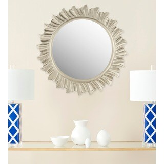 Safavieh By The Sea Burst Pewter 29-inch Mirror