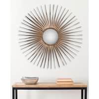 Safavieh Shanira Gold Nailhead 33.5-inch Sunburst Mirror