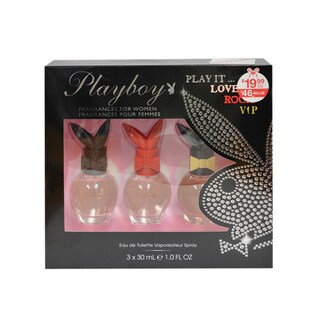 Playboy Play It Women's 3-piece Gift Set