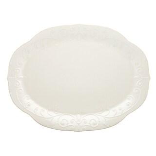 Lenox French Perle White Oval Platter