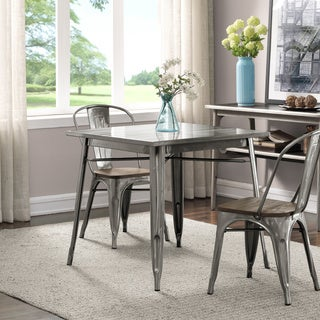 Clearance. Tabouret Gunmetal Dining Table