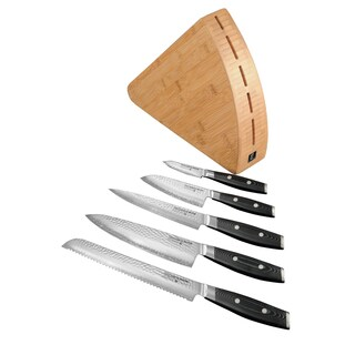 Yaxell Gou 6-piece Knife Block Set