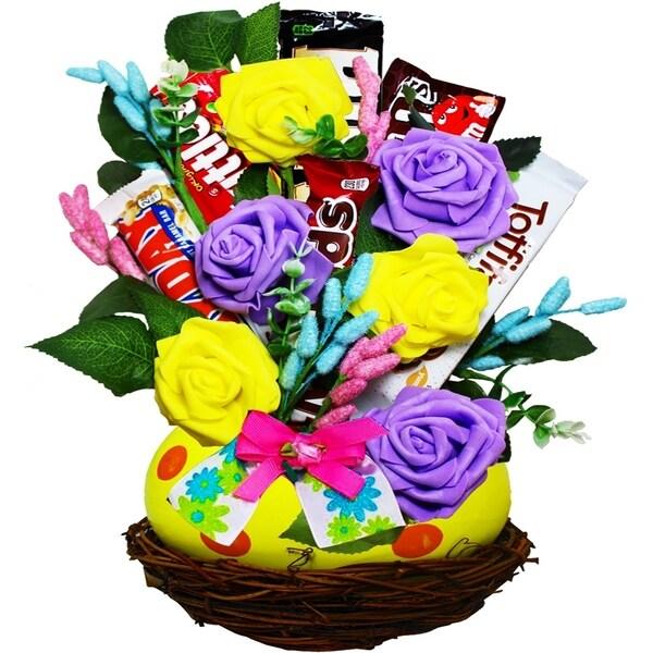 Spring Favorites Easter Egg Candy Bar Bouquet