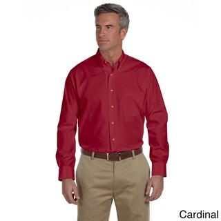 Van Heusen Men's Solid Silky Poplin Shirt