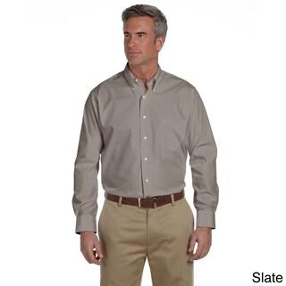 Van Heusen Men's Solid Silky Poplin Shirt (More options available)
