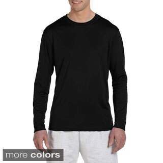 Champion Men's Double Dry Performance Long Sleeve T-shirt (More options available)