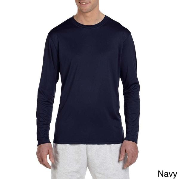 Gildan Activewear 50//50 Ultra Blend Long-Sleeve Tee Shirt 3XL Navy