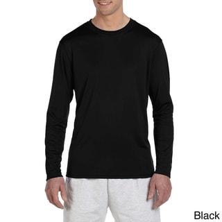Champion Men's Double Dry Performance Long Sleeve T-shirt
