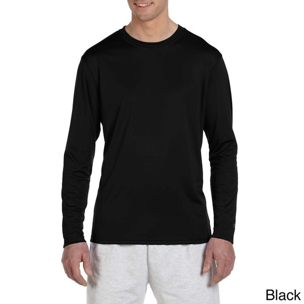6233cc76 Shop Champion Men's Double Dry Performance Long Sleeve T-shirt - On ...