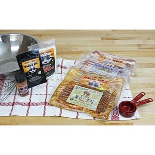 Boss Hog 7-piece Bacon Sampler Gift Bundle