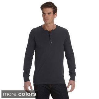 Canvas Men's Long Sleeve Jersey Henley (More options available)