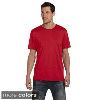 Alternative Men's 3.7-ounce Cotton Basic Crew T-shirt|https://ak1.ostkcdn.com/images/products/8984958/Alternative-Mens-3.7-ounce-Cotton-Basic-Crew-T-shirt-P16190991.jpg?impolicy=medium