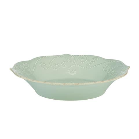 Lenox Ice Blue French Perle Pasta Bowl