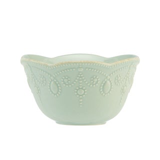Lenox Ice Blue French Perle Fruit Bowl