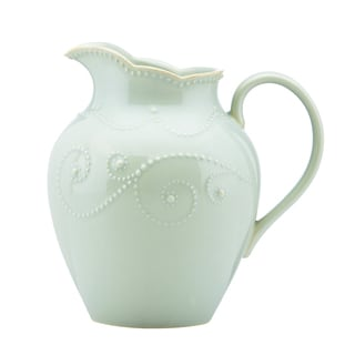 Lenox Ice Blue French Perle Pitcher