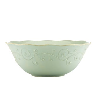 Lenox Ice Blue French Perle Serving Bowl