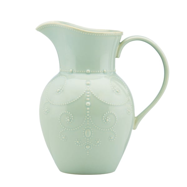 Lenox Ice Blue French Perle Large Pitcher