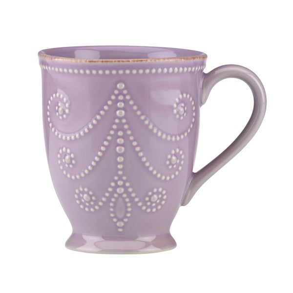 Lenox Violet French Perle Mug Free Shipping On Orders