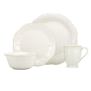 Lenox White French Perle 4-piece Place Setting (service for 1)