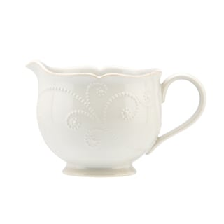Lenox 'French Perle' White Sauce Pitcher