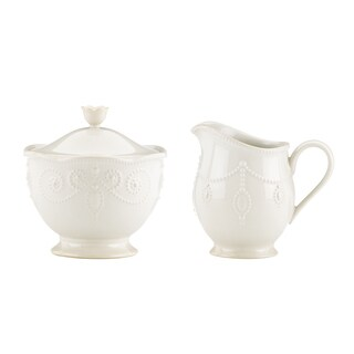 Lenox 'French Perle' Sugar and Cream Dish Set
