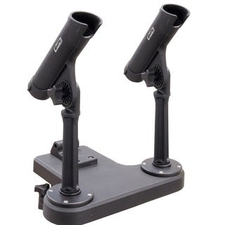 Scotty Dual Rod Holder with 350 Rodmaster II & 259 Hght Extend