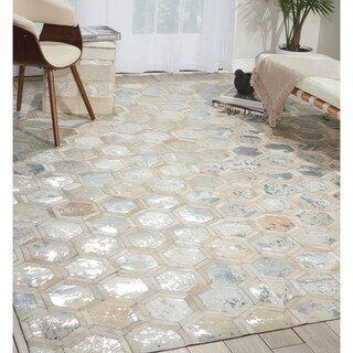 Michael Amini City Chic Snow Area Rug by Nourison (8' x 10')