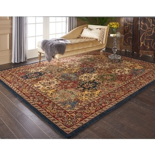 Nourison India House Multicolor Rug (3'6 x 5'6)