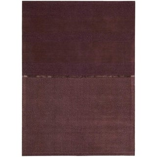 Calvin Klein Vale Classic Solid Wool Area Rug