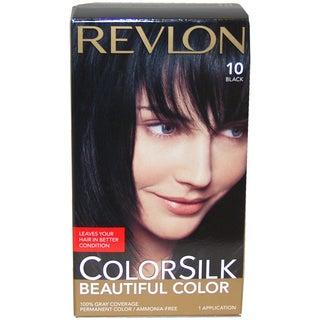 Revlon ColorSilk Beautiful Color #10 Black Hair Color (1 Application)