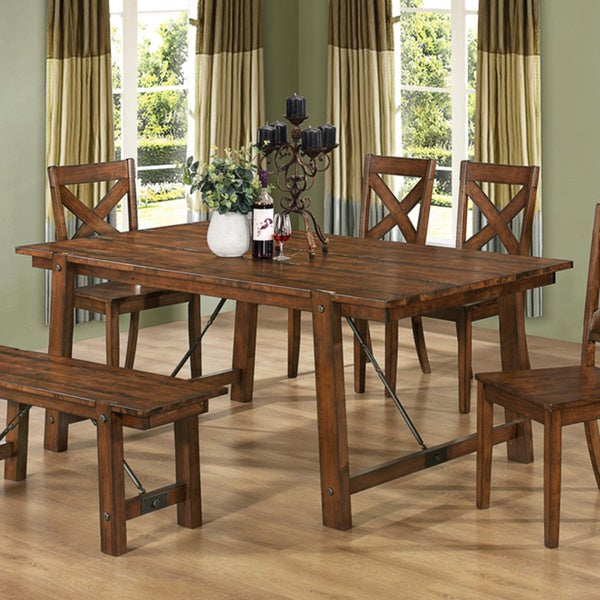 Coaster Company Lawson Wood Dining Table