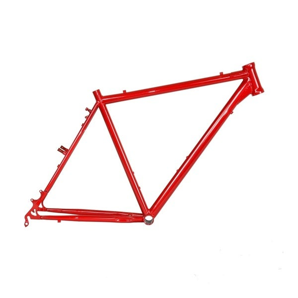Cro-mo Red Cyclocross Frame