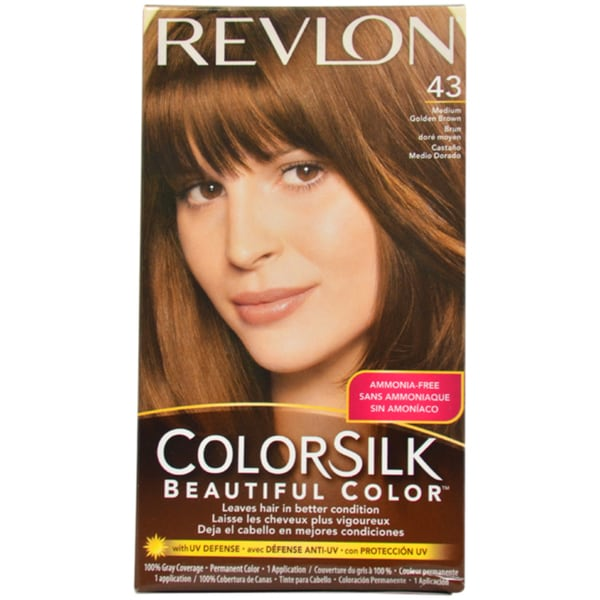 shop revlon colorsilk beautiful color 43 medium golden