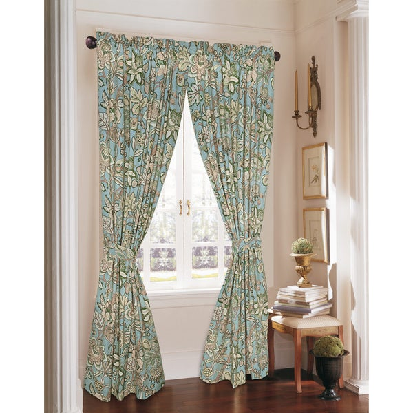Curtains Ideas 86 inch curtain panels : Rose Tree Verona 86-inch Curtain Panel Pair - Free Shipping Today ...