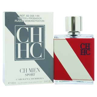 Carolina Herrera CH Sport Men's 3.4-ounce Eau de Toilette Spray (Tester)