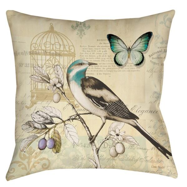 Freedom II Elegance 19-inch Throw Pillow