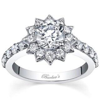 Barkev's Designer 14k White Gold 2.10ct TDW Diamond Ring