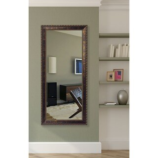 American Made Rayne Roman Bronze Tall Wall Vanity Floor Mirror