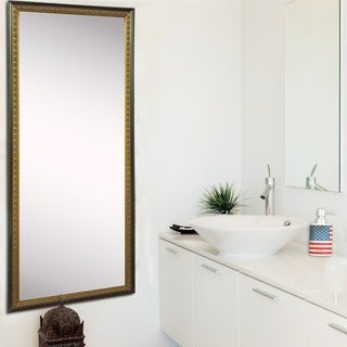 American Made Rayne Cameo Bronze 28.5 x 63.5-inch Tall Mirror