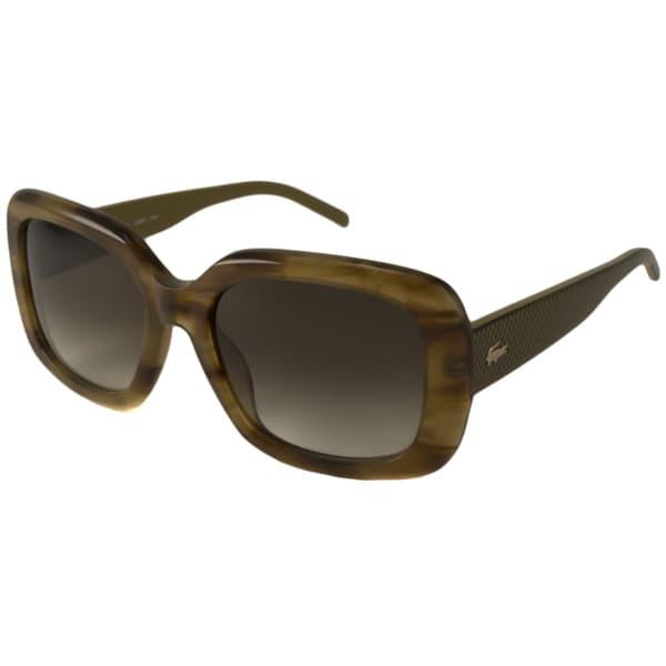 Lacoste Women's L666S Rectangular Sunglasses