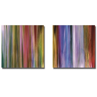 John Butler 'Spectra Falls I and II' 2-piece Canvas Art Set