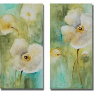 Lanie Loreth 'Summer Begins Softly I and II' 2-piece Canvas Set