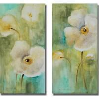 Lanie Loreth 'Summer Begins Softly I and II' 2-piece Canvas Set